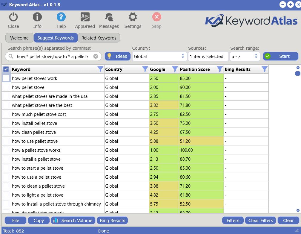 idea generator results