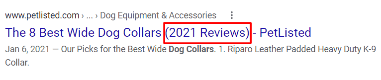 use current year in blog post title