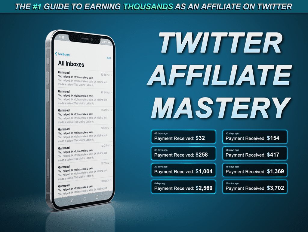 Twitter affiliate mastery gumroad