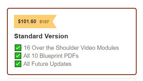 gumroad discount code link display